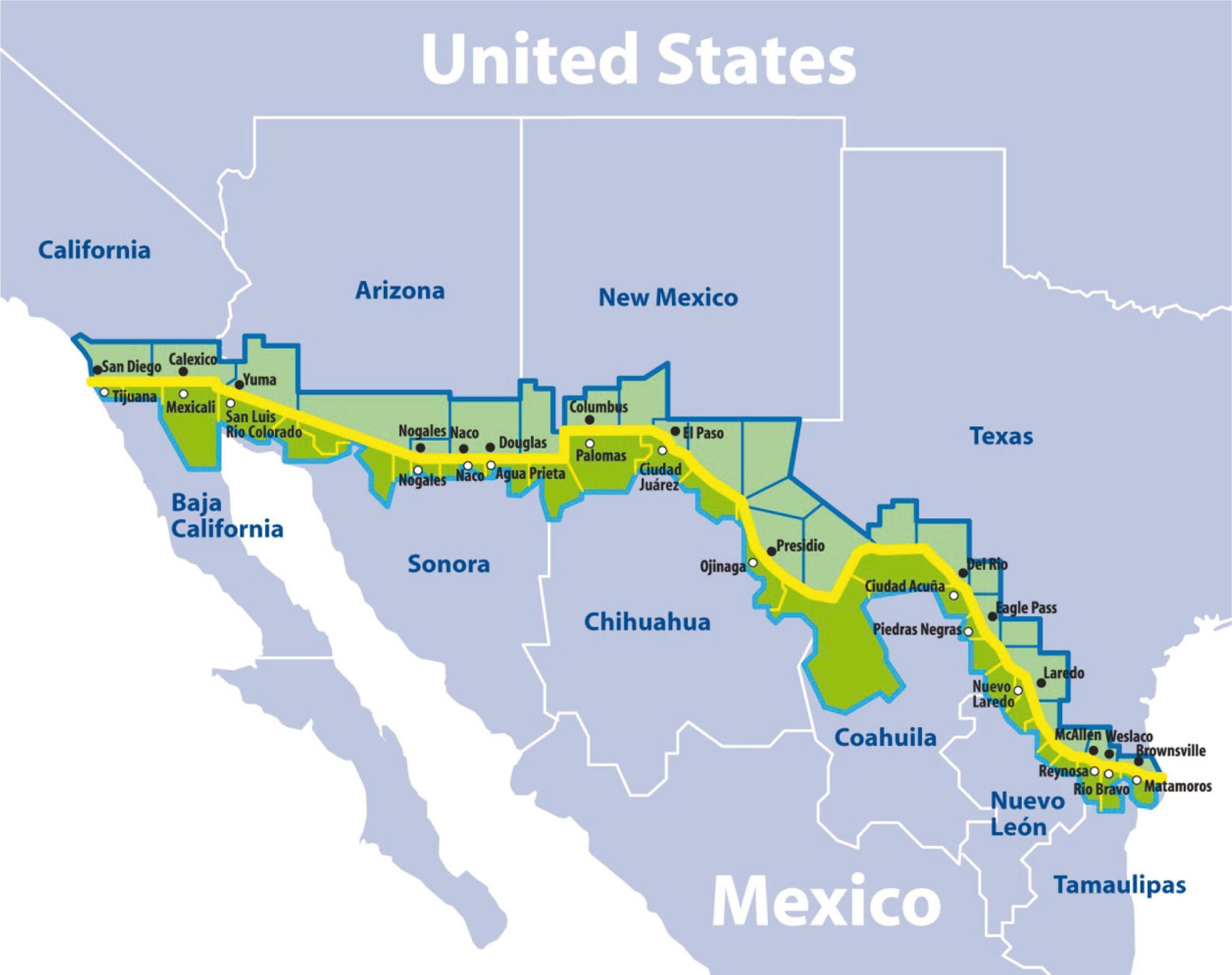 Saúde Pública - The United States–Mexico border environmental public ...